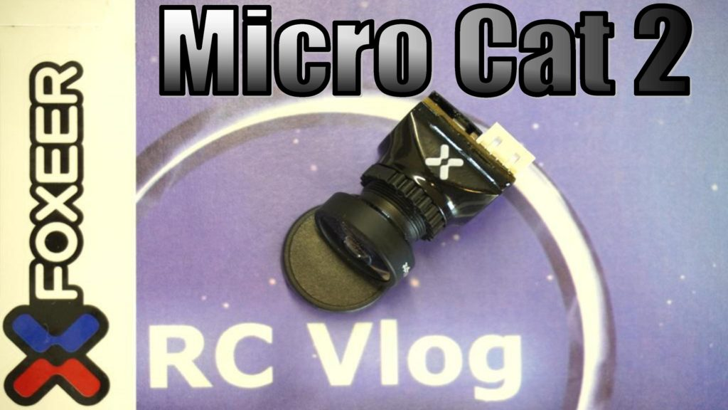 Foxeer Cat 2 Micro 1/3 CMOS 1200TVL StarLight FPV Camera Low Latency 4:3/16:9 NTSC/PAL Switchable Support OSD