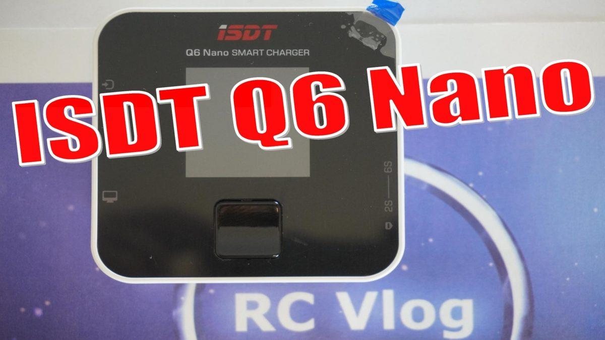 ISDT Q6 Nano. Мощное зарядное устройство до $30 с функционалом старших моделей.