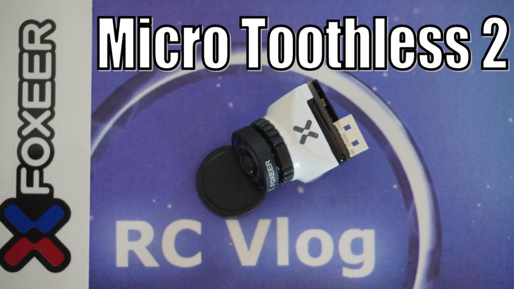 """Foxeer Micro Toothless 2 Angle Switchable FPV StarLight Camera 1/2"""" Sensor Super HDR"""