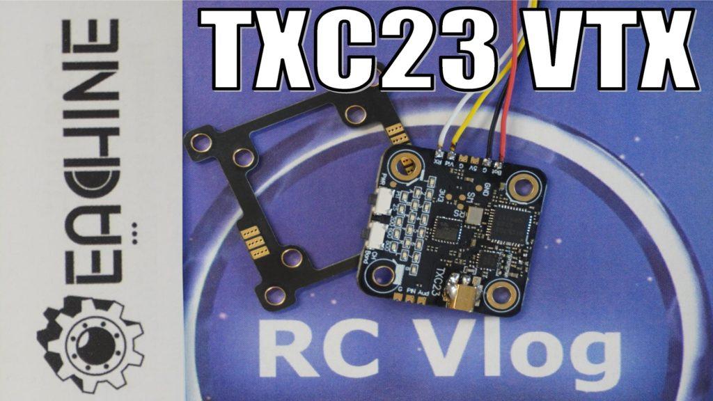 EACHINE TXC23 VTX 5.8Ghz 48CH 25/200/600/800mW FPV Mini Transmitter 28*28mm 36*36mm Mounting Board Pitmode IRC Tramp