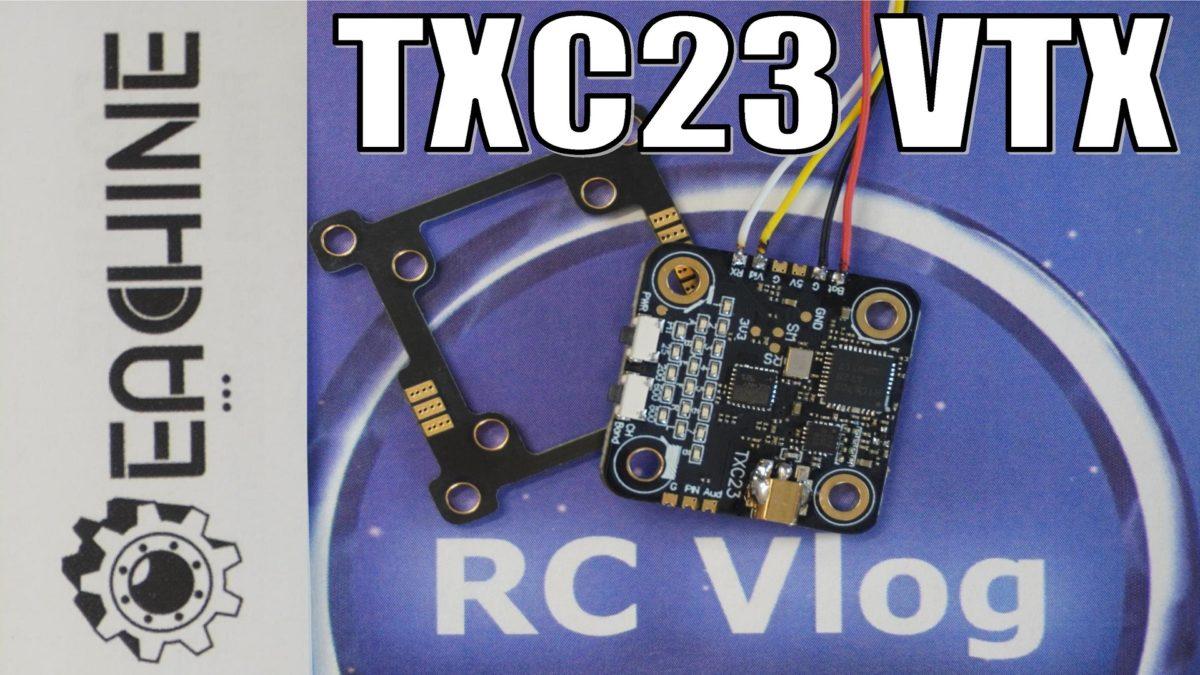 EACHINE TXC23 VTX. Тест мощности