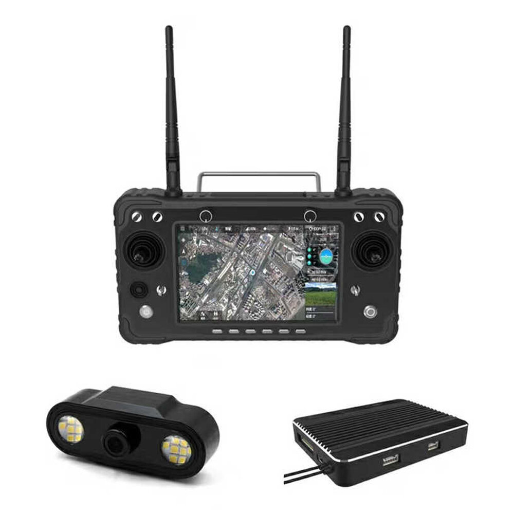 Skydroid H16 \ H16 Pro 2.4GHz 16CH FHSS 10\20KM 1080P Digital Video Transmission and Data Transmission and Telemetry Transmitter with R16 Receiver and MIPI Camera for RC Drone