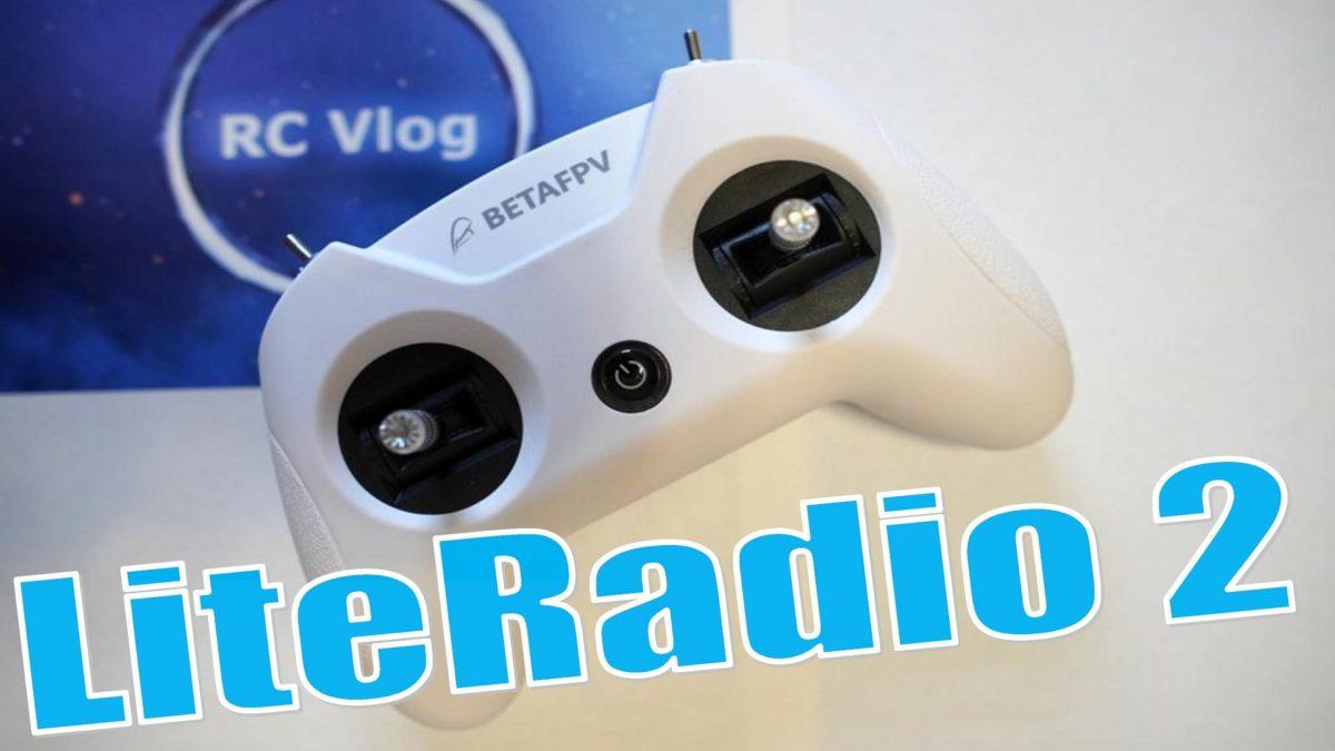 BETAFPV LiteRadio 2 с поддержкой протокола Frsky за $39