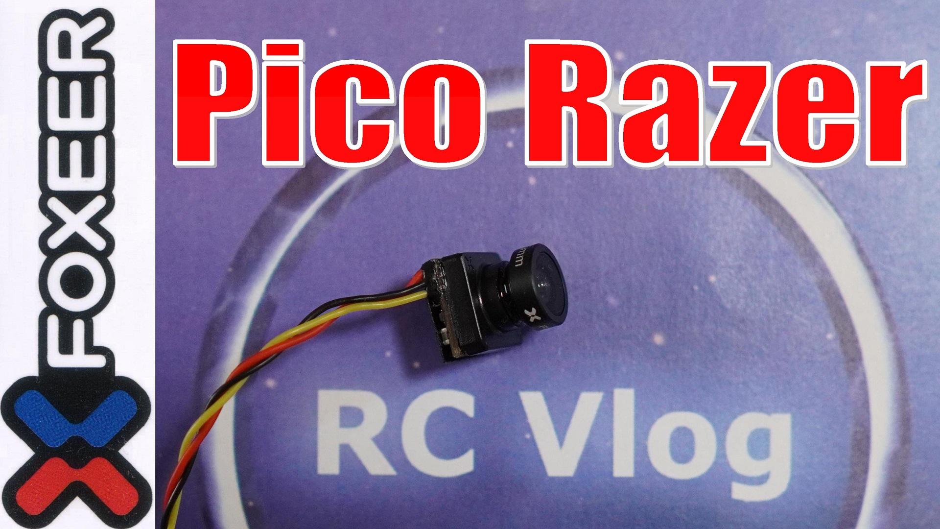 Foxeer Pico Razer 1200TVL 12*12mm Mini FPV Camera CMOS 4:3/16:9 NTSC/PAL 3.8V-16V for RC Racing Drone