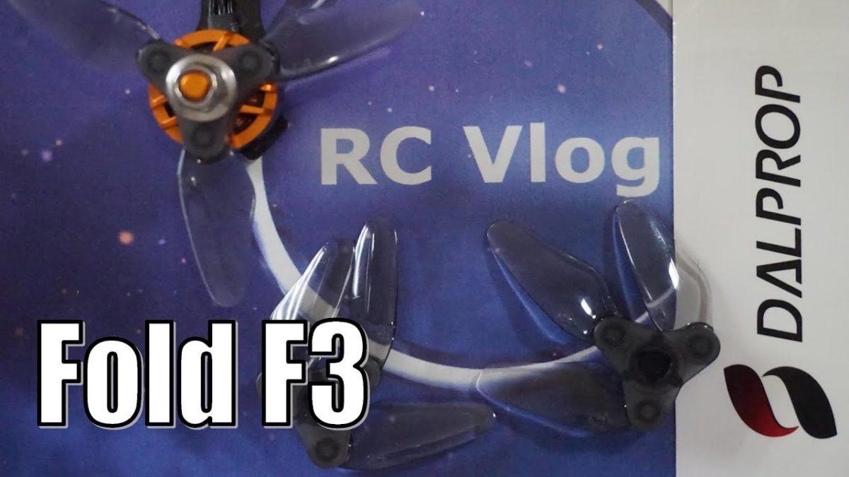 Dalprop Fold F3. Нужны ли 3-х дюймовые складные пропеллеры?