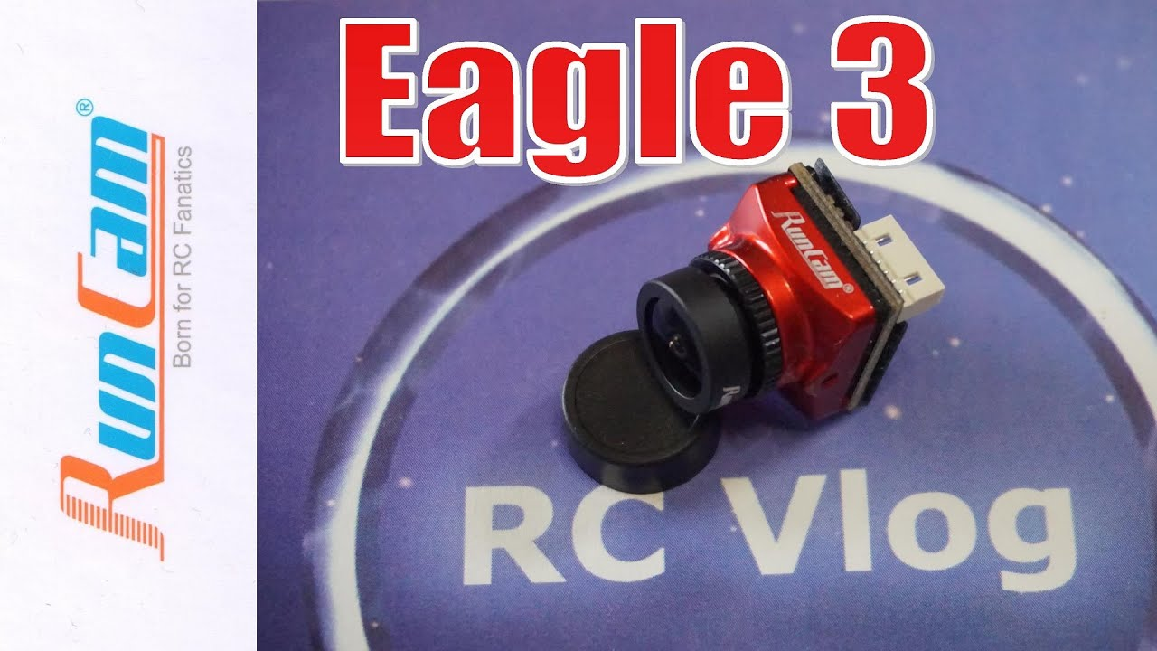 RunCam Eagle 3 1/2.8 Starlight CMOS 1000TVL 0.001Lux 2.1mm FOV 155° Lens Freestyle FPV Camera NTSC 4:3/16:9 Switchable For RC Racing Drone