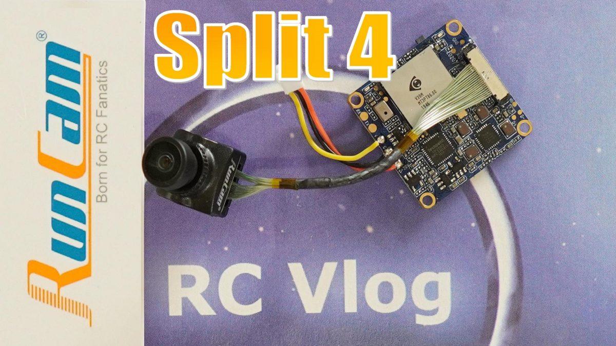 Runcam Split 4 4k. Самая маленькая UHD сплит камера