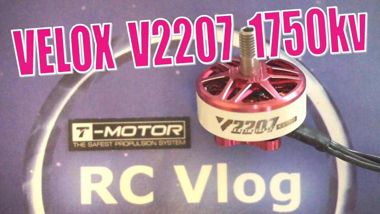 T-Motor VELOX V2207 2207 1750KV 6S Brushless Motor for RC Drone FPV Racing
