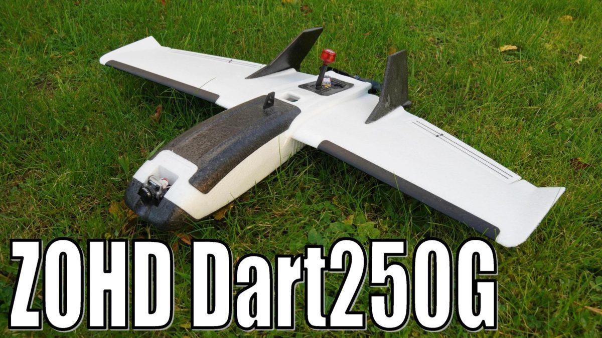 ZOHD Dart250G. Сборка, настройка, полет.
