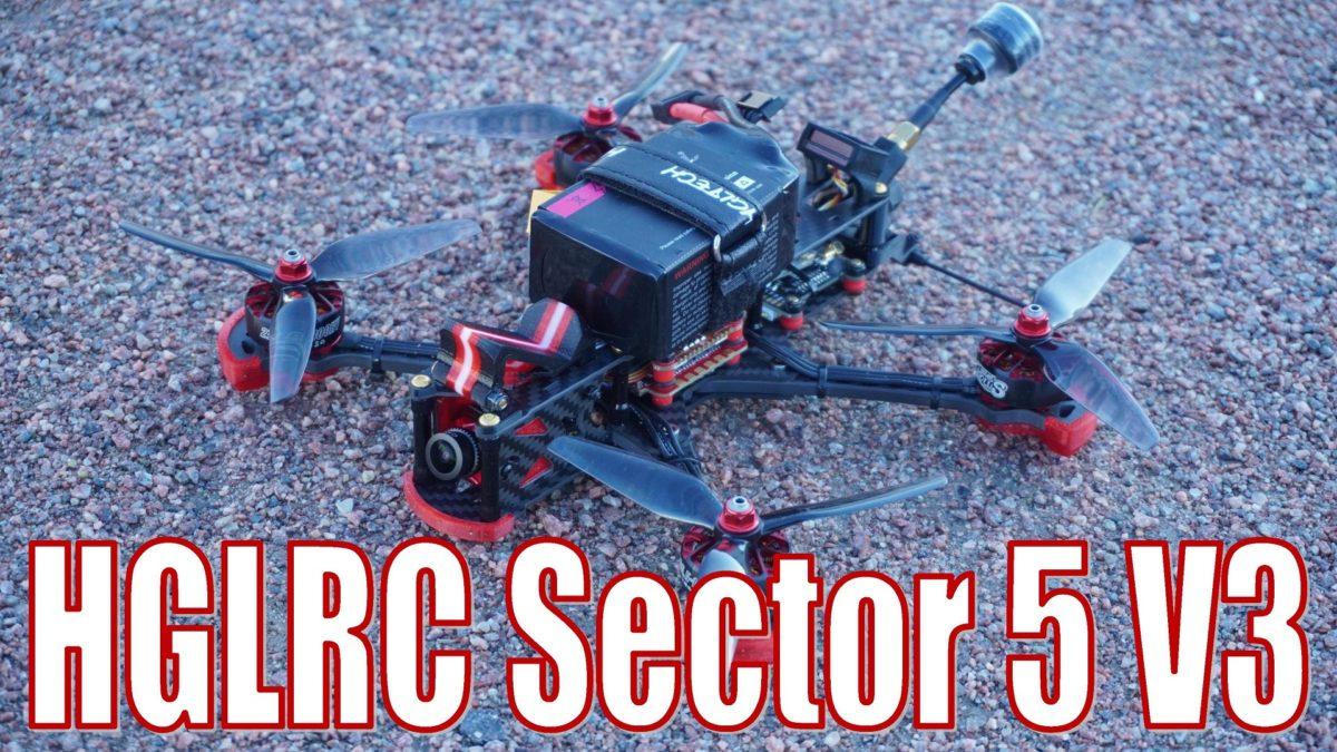 HGLRC Sector 5 V3. Отличный готовый дрон для фристайла.
