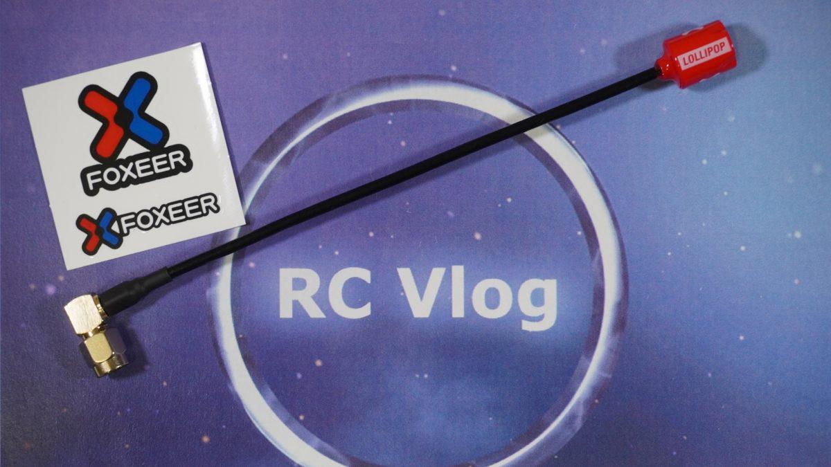 Foxeer Micro Lollipop 15cm. Удлиненная антенна для очков / шлема.