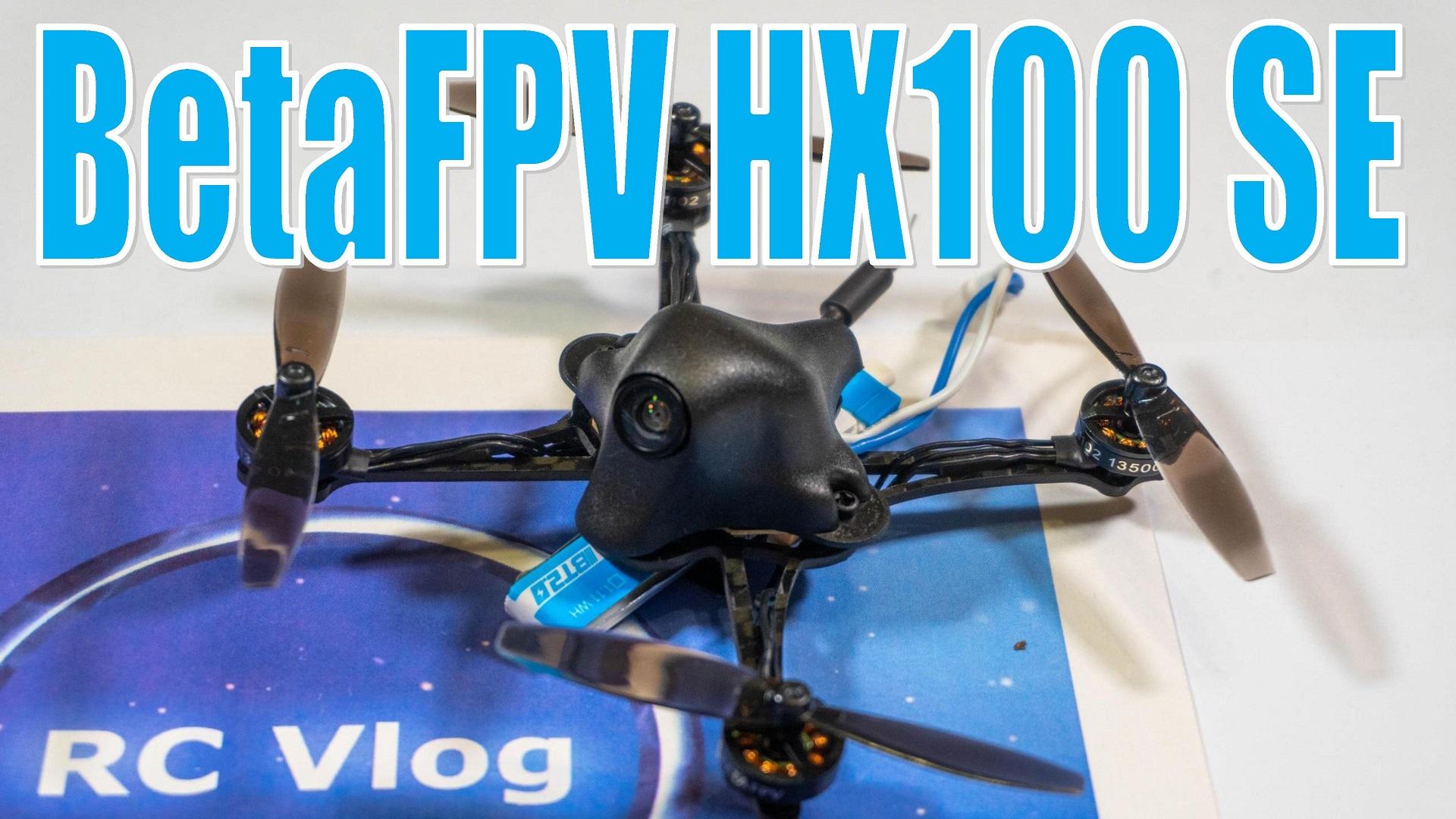 BETAFPV HX100 SE 100 мм F4 OSD AIO 5A ESC 1S Зубочистка FPV Racing Дрон PNP BNFw / 1102 13500KV Мотор M01 камера 600TVL AIO 25 мВт VTX V2.1