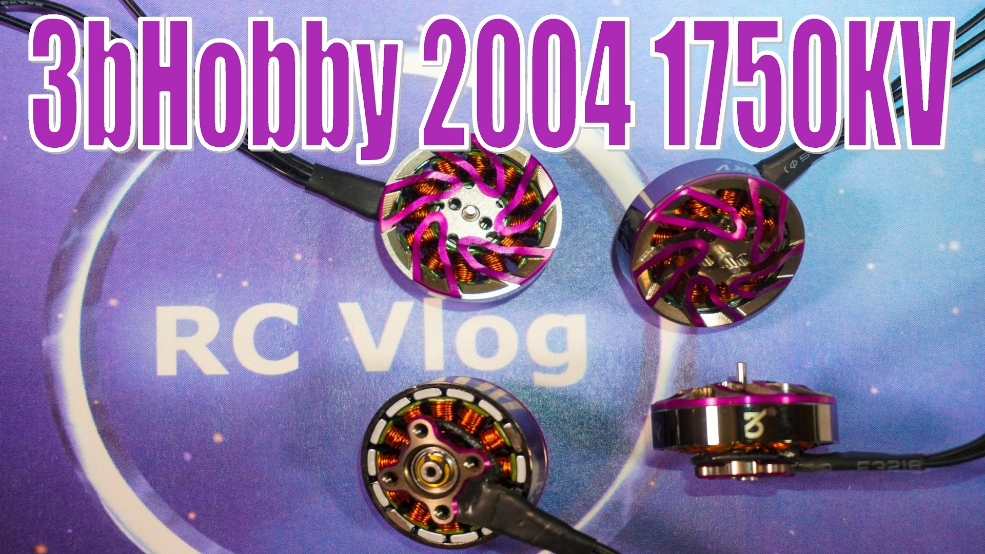 3bHobby 2004 RC Brushless Motor 1750KV 3100KV 4S 6S Lipo Battery 5inch Propeller 20A 40A ESC 190-230mm FPV Drone