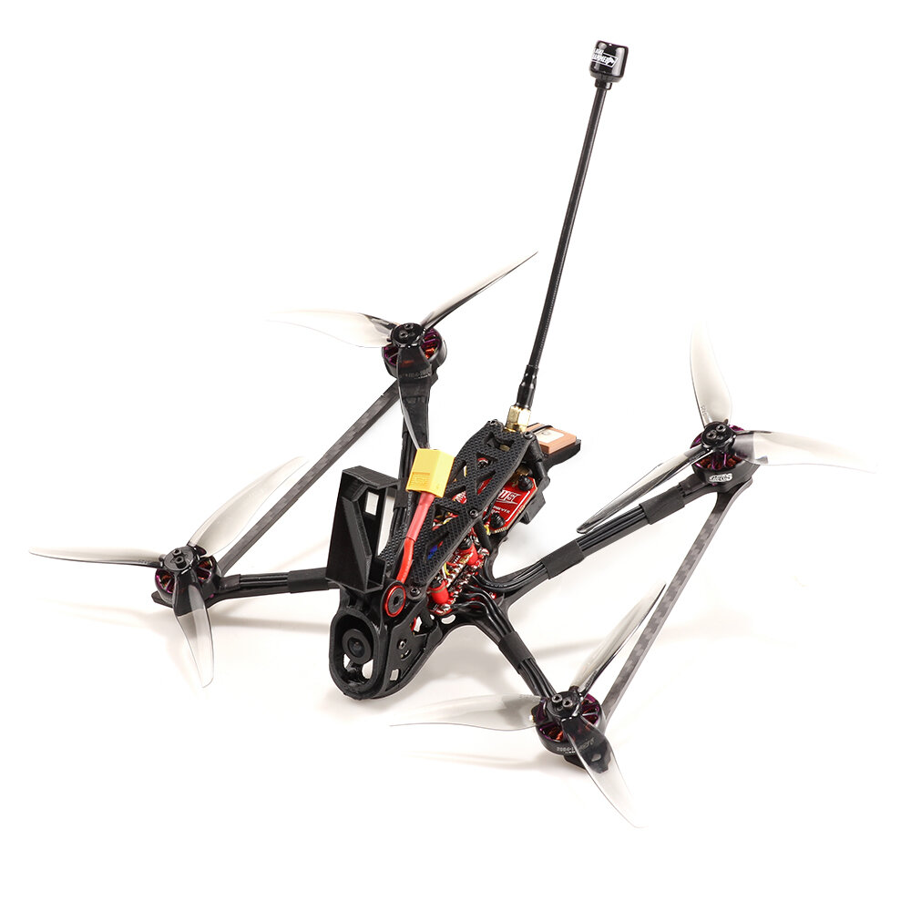 Rekon 5 Micro Long Range 5Inch 4S RC Drone FPV Racing Drone Analog Caddx Ratel2 Camera F722 mini Flight Controller 30A 4in1 ESC 2004 Motor VTX Zeus 800mW
