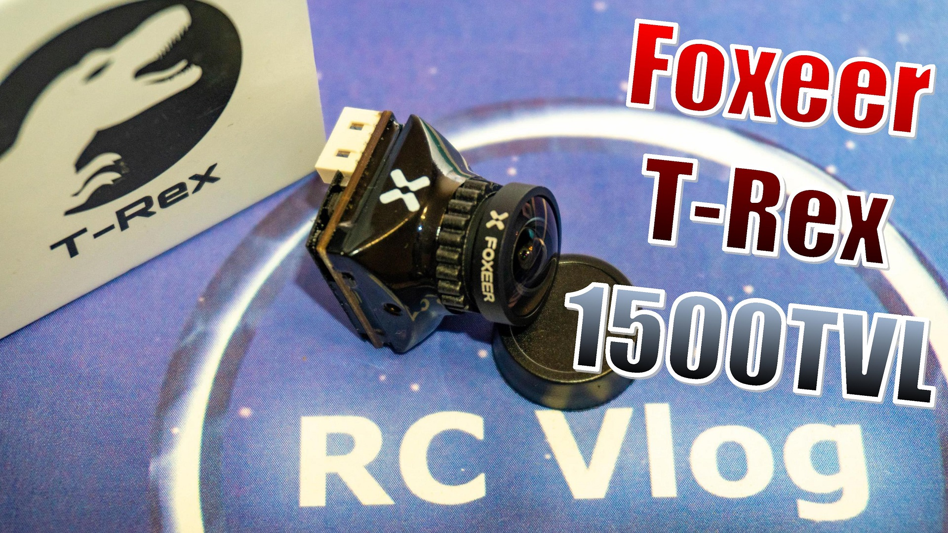 Foxeer T Rex Micro 1500TVL Super Low Latency Super WDR 4:3/16:9 PAL/NTSC Switchable FPV Camera Support OSD & Menu Remote Control for FPV RC Racing Drone