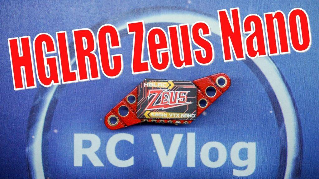 HGLRC Zeus nano VTX 25/100/200/350mW 5.8Ghz 40CH 16x16mm 20x20mm 25.5x25.5mm For FPV Racing Drone