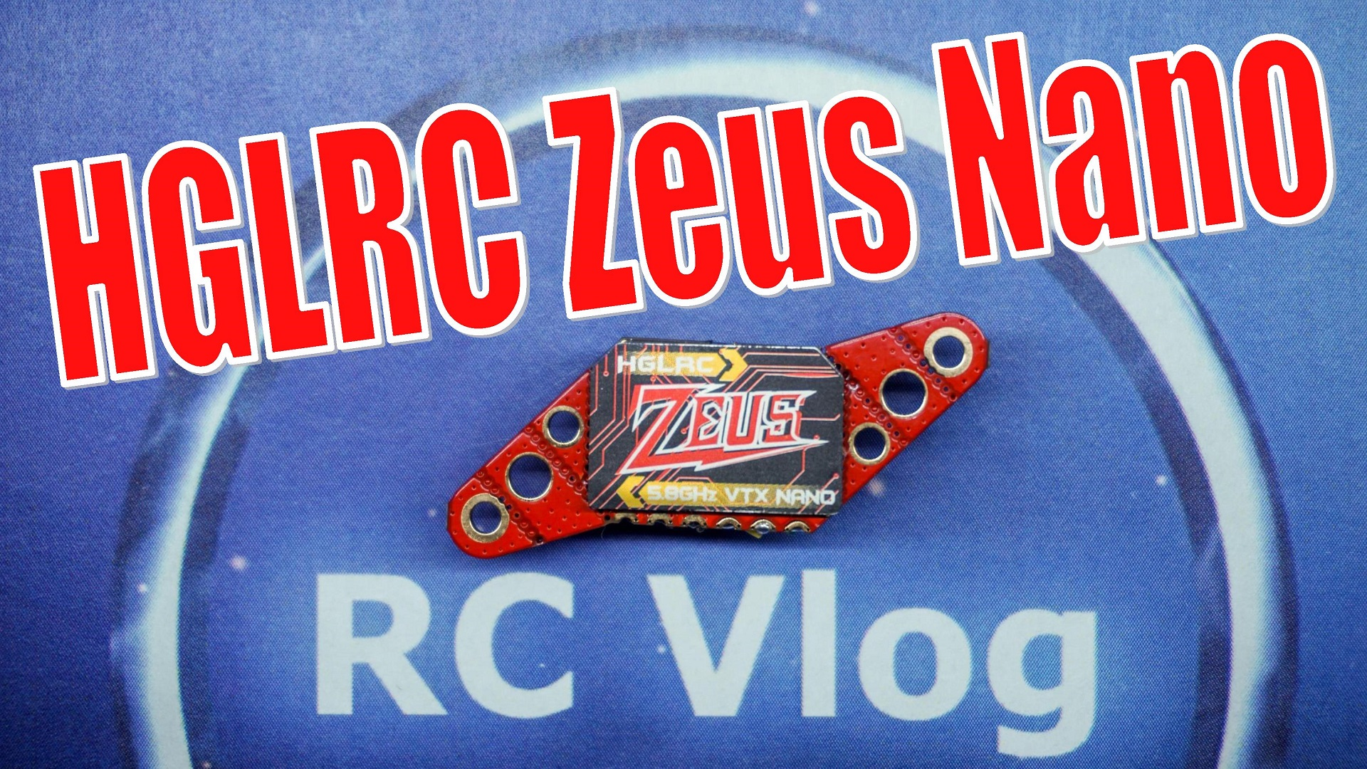 HGLRC Zeus nano VTX 25/100/200/350mW 5.8Ghz 40CH 16x16mm 20x20mm 25.5x25.5mm For FPV Racing Drone