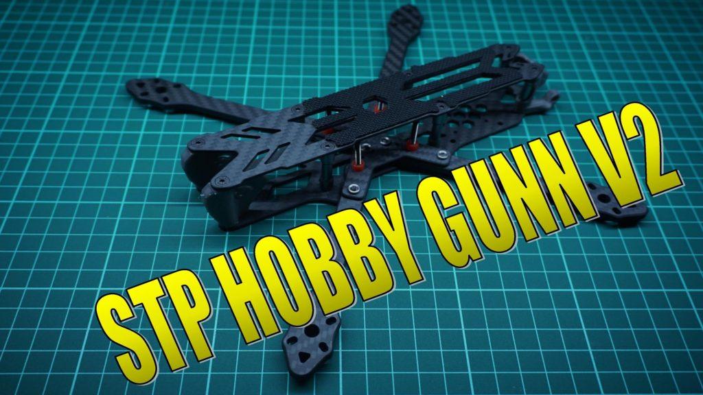 """STP HOBBY GUNN V2 230mm 5"""" 3K Carbon Fiber True X Analog Version Frame for Freestyle FPV Racing Drone w/Lipo Battery Bag"""