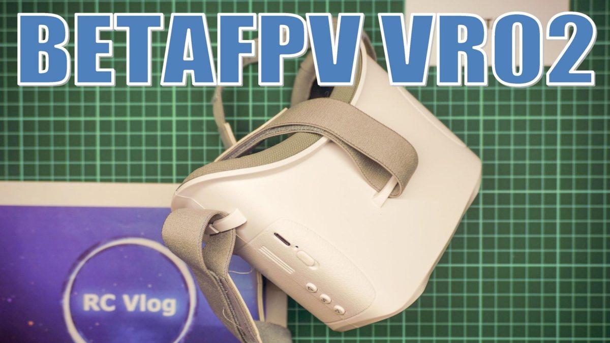 BETAFPV VR02 FPV Goggles. ФПВ шлем для начинающих пилотов.