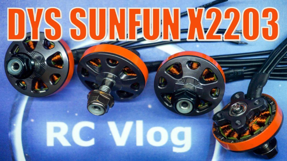 DYS SUNFUN X2203. Обзор и тест тяги.