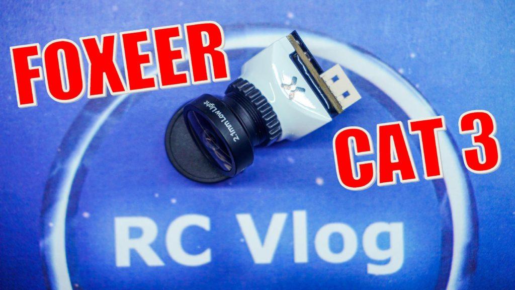 Foxeer Micro Cat 3 1200TVL 0.00001lux Super Low Light Night Camera
