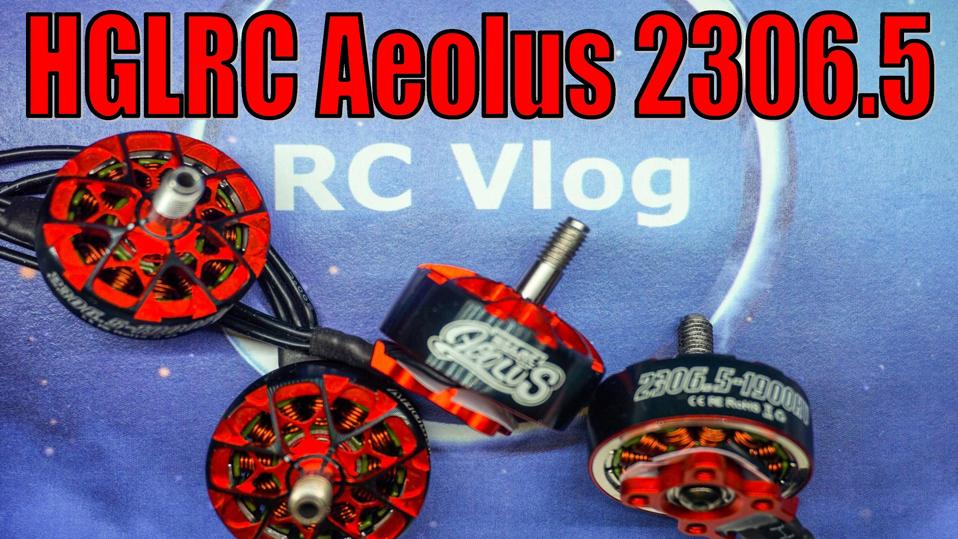 HGLRC Aeolus 2306.5 6S/1900KV 4S/2550KV Brushless Motors for FPV Racing RC Drone