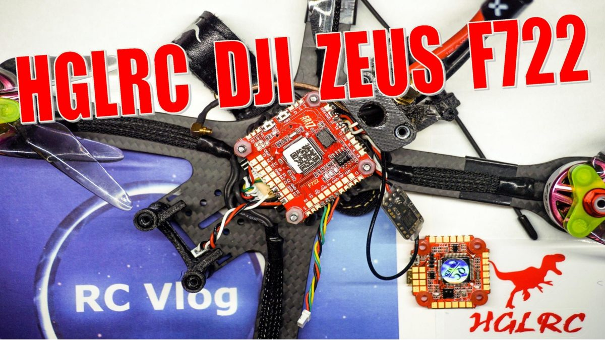 HGLRC DJI Zeus F722 стандартная и мини версия. Led подсветка W554B