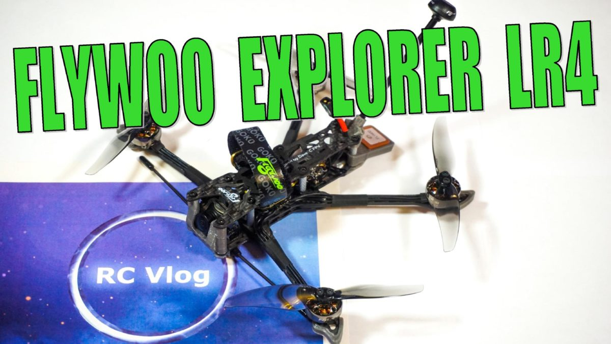 Flywoo Explorer LR4. Замена комплектующих V1.0 на V2.0.
