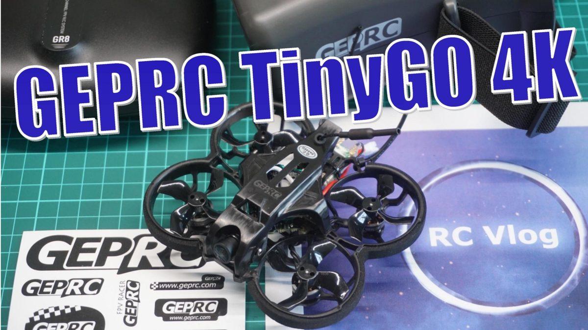 GEPRC TinyGO 4K FPV Whoop RTF. Готовый к ФПВ полетам набор для новичков