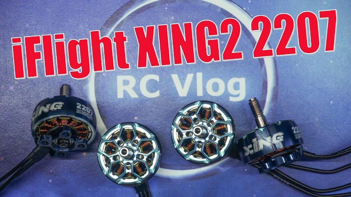 iFlight XING2 2207. Вторая версия популярных моторов. Измерение тяги.