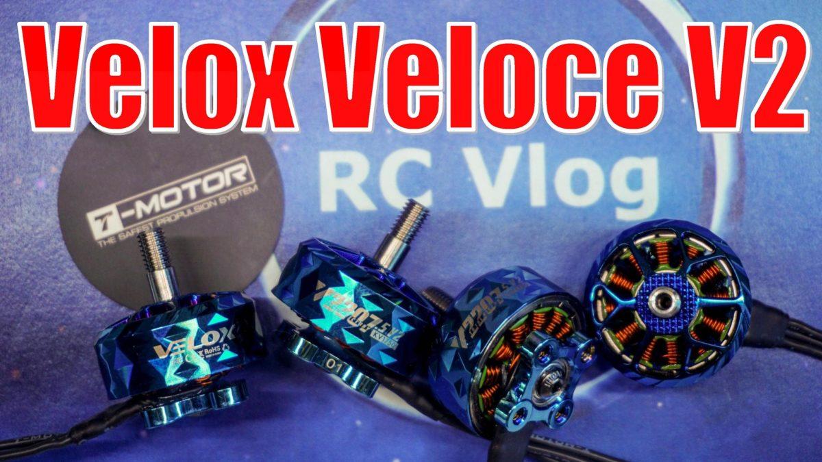 T-Motor Velox Veloce V22075 V2. Обновленные моторы Велокс Версии 2.