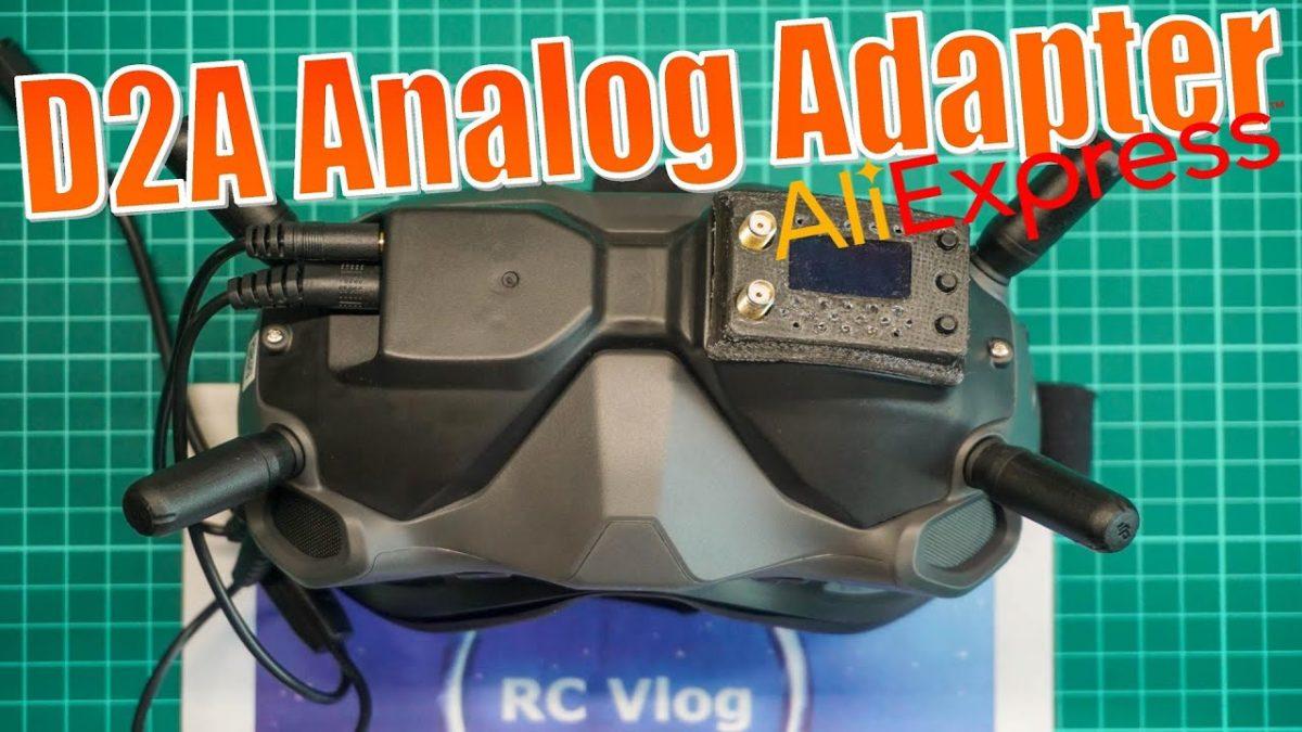 D2A FPV Analog Adapter. Зачем покупать дорогой BDI Digidapter? Аналог мод DJI FPV Goggles.