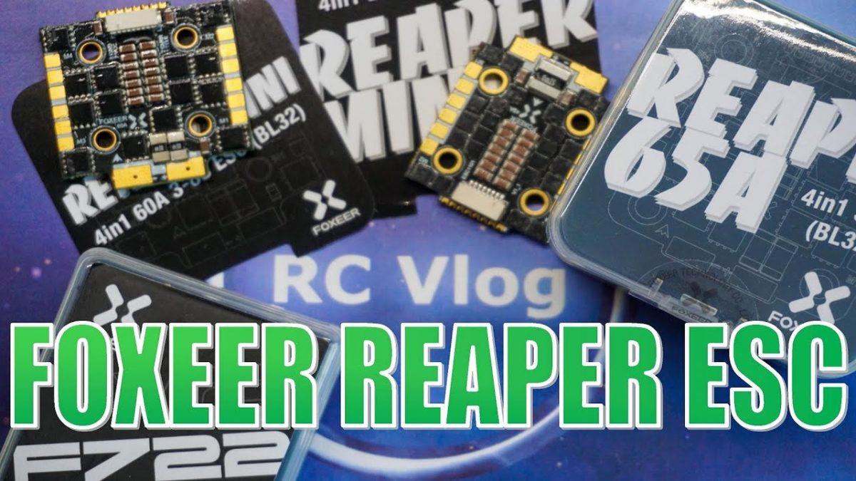 Foxeer Reaper ESC. Обзор регуляторов скорости Foxeer.