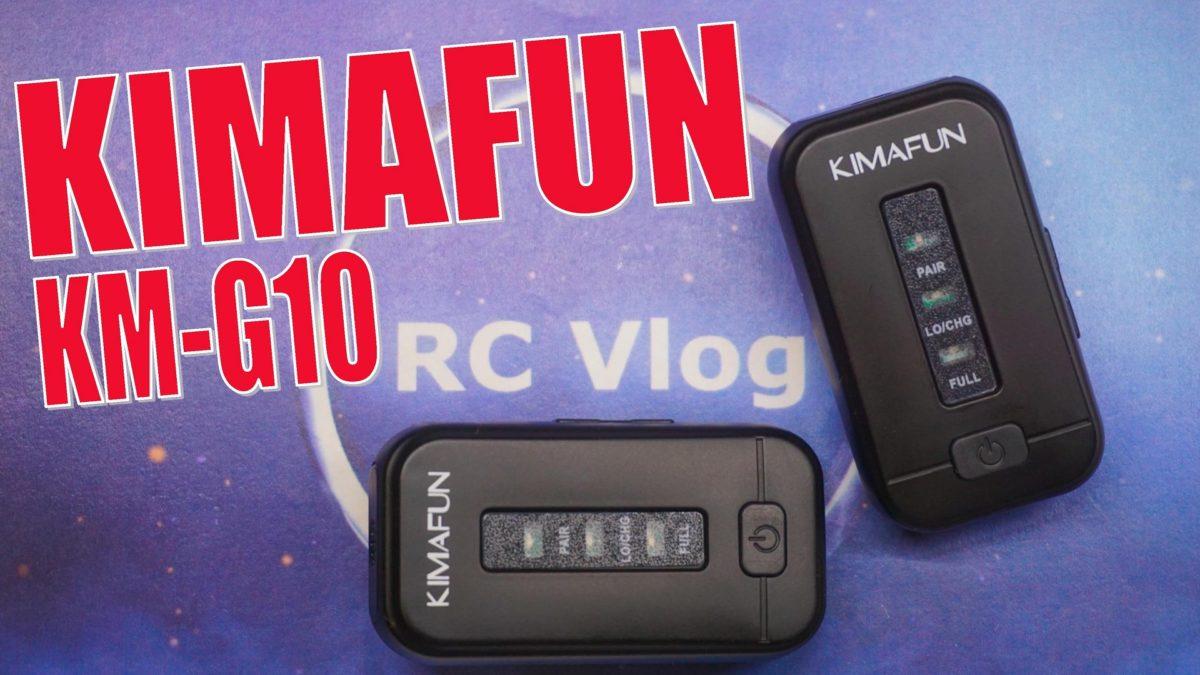 Kimafun KM-G10. Беспроводной петличный микрофон всего за 5000 рублей!